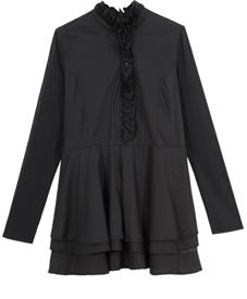2014新款春装 加肥加大码 时尚韩版修身 连衣裙667