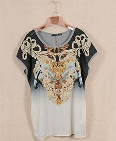 2014夏季新款 胖衣朵正品个性休闲小衫28042