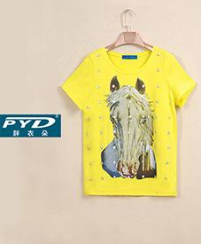 个性T恤28069    6款颜色  2014夏季新品  加肥加大  胖衣朵特大码女装