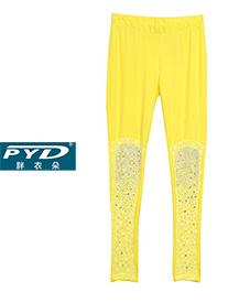 镶钻打底裤68025  五款颜色  2014夏季新款 加肥加大