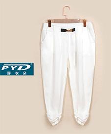 胖衣朵正品七分西裤865   胖MM2014夏季新款   加肥加大   特大码女装