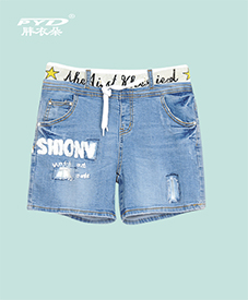 牛仔短裤2008     修身显瘦  2014夏季新品  特大码  胖MM夏日必备