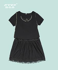 夏季连衣裙012   时尚气质  2014新款爆款   加肥加大 胖衣朵正品