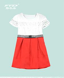 胖衣朵正品连衣裙8006   红黑两色  上身镂空修身收腰  2014夏季新品  加肥加大