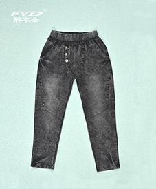 新品秋装裤子22012 加肥加大 2014秋季爆款 个性骷髅头