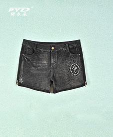 特大码 正品加肥加大时尚大码女装批发松紧腰短裤E76厂家直销