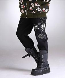 石头鱼厂家大码女装批发胖衣朵提供加肥裤子357