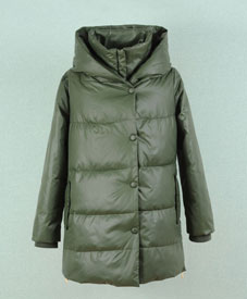 2014冬季新款胖衣朵时尚大码女装批发中长款棉衣197