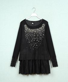 2015春新款时尚修身显瘦韩版大码女装潮厂家直销1160大码女装品牌